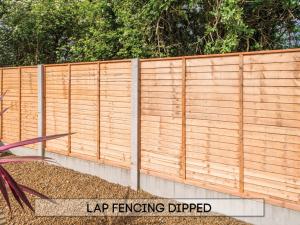 Garden fencing Dublin - Dipped Lap