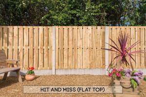 Hit & Miss Flat Top