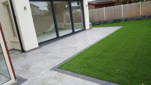Contact Apco Garden Design today for all your patio and synthetic grass needs