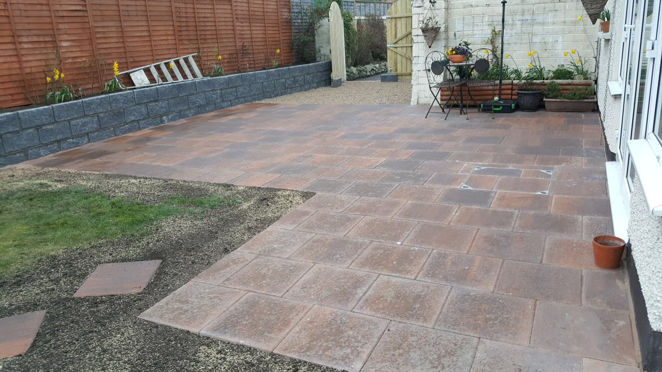 Patio Dublin, Apco Garden Design