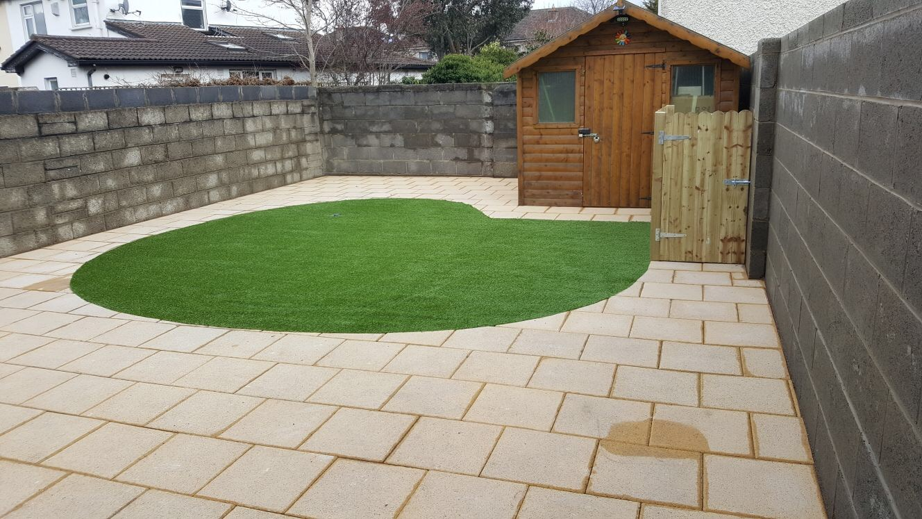 Patios cleaning services in dublin apco garden design for Garden designs ie