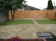 Garden landscaping Dublin - back garden makeover