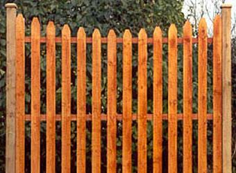 Garden fencing Dublin - cottage concavet