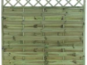 Garden fencing Dublin - Florance fencing