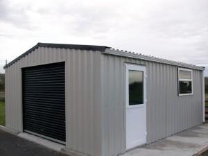 Steel sheds Dublin - Steel Garage